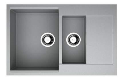 Мойка для кухни гранитная OMOIKIRI Daisen 78-2-GR серый