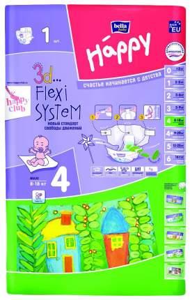 Подгузники Bella Baby Happy Maxi 4 (8-18 кг), 1 шт.