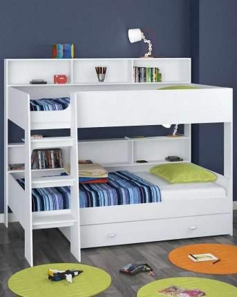 Двухъярусная кровать Golden Kids 1 белая