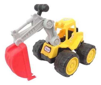 Строительная техника Junfa toys Экскаватор 6909-7D