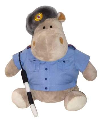 Мягкая игрушка Orange Toys Бегемот Полицейский 30 см