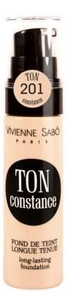 Тональный крем Vivienne Sabo fond de teint longue tenue Ton Constance тон 202
