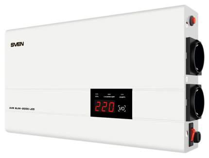 Стабилизатор напряжения SVEN AVR SLIM-2000 LCD SV-013950