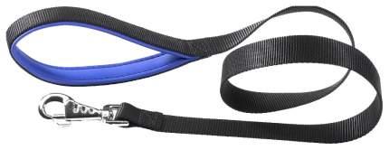 Поводок с мягкой ручкой GiGwi L, 20 мм х 120 см, синий нейлон (75162)