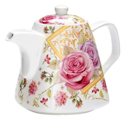Заварочный чайник LORAINE Цветы 1,1 л LR (х18)