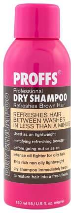 Сухой шампунь Proffs Dry Shampoo Refreshes Brown Hair 150 мл