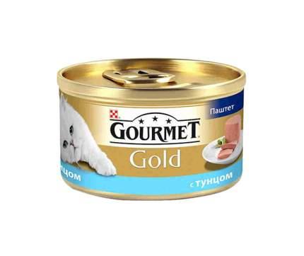 Консервы для кошек Gourmet Gold, тунец, 85г