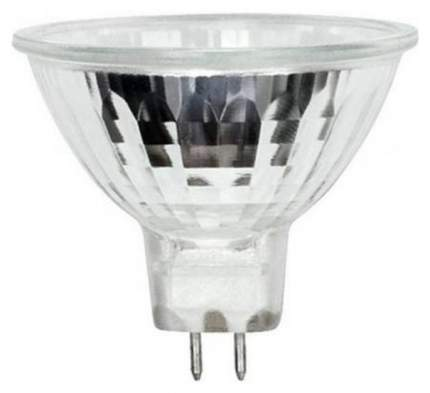Лампа галогенная (00484) GU5,3 35W полусфера прозрачная JCDR-35/GU5,3