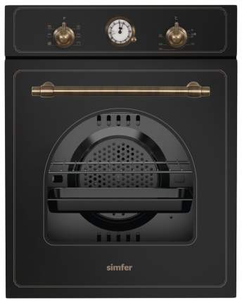 Встраиваемый электрический духовой шкаф Simfer B4EL76011 Black