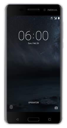 Смартфон Nokia 6 DS TA-1021 32Gb Silver