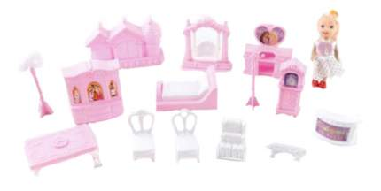 Мебель для кукольного дома Shantou Набор Мебель с куклой