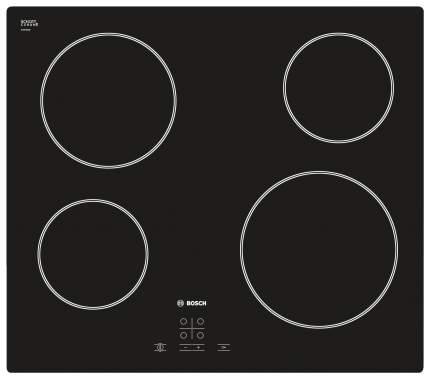 Встраиваемая варочная панель электрическая Bosch PKE611D17E Black