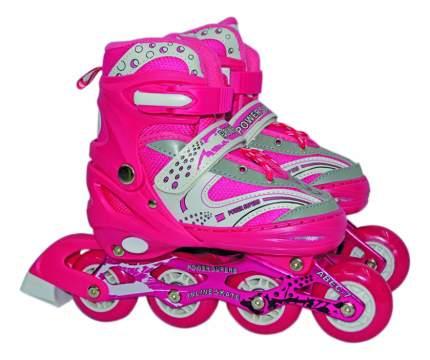Роликовые коньки раздвижные детские Navigator S (30-33) розовые