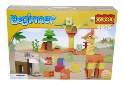 Конструктор для малышей COGO Зоопарк