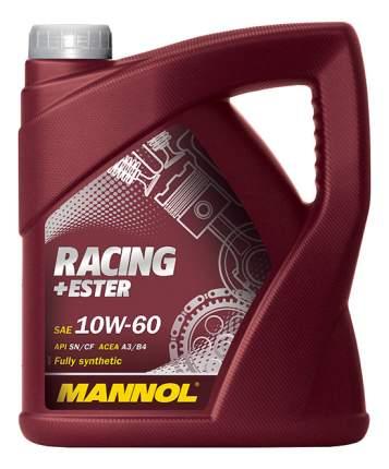 Моторное масло Mannol Racing ester 10W-60 4л
