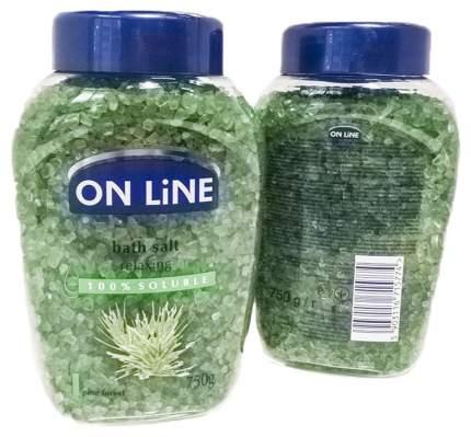 Соль для ванн On Line Сосновый лес 750 г