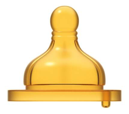 Соска Chicco Well-Being средний поток с 2 меc 2 шт.