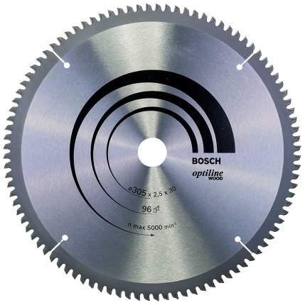 Диск по дереву Bosch STD WO 305x30-96T 2608640442