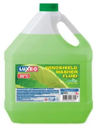 Жидкость стеклоомывателя зимняя LUXE 5л