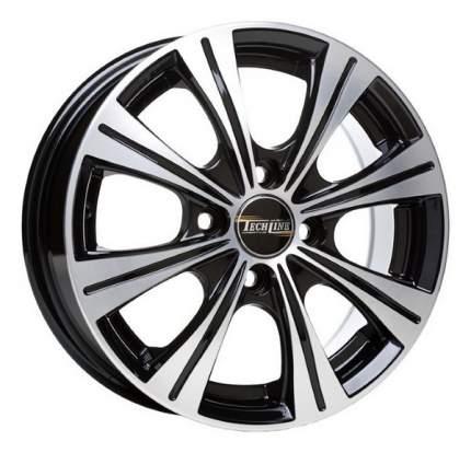 Колесные диски Tech-Line R14 5.5J PCD4x100 ET49 D56.6 (T423-5514-566-4x100-49BD)