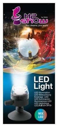 Светильник для аквариума Hydor H2SHOW LED Light, микс, 0,5 Вт, 6,9 см