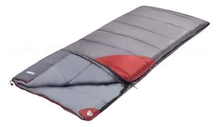 Спальный мешок Trek Planet Dreamer серо-красный, левый