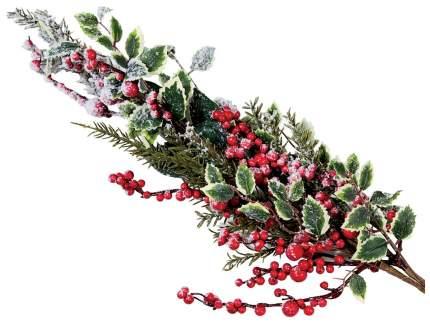 Ветка хвойная Kuchenland Рябина на снегу 85 см
