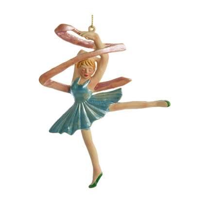 Елочная игрушка Царь Елка Балерина GC-0011AB 12 см 1 шт.