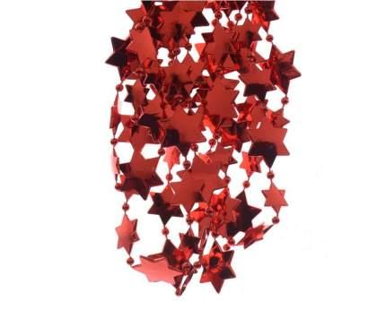Kaemingk Бусы пластиковые Звезды 270 см красные 000466
