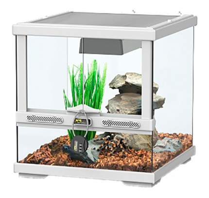 Террариум для рептилий Aquatlantis Smart Line, белый, 45 x 45 x 45 см