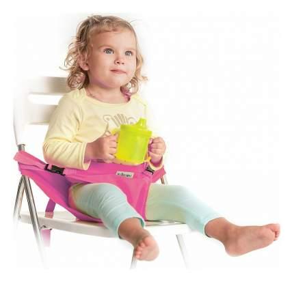 Вкладыш для стульчика Жирафики Для кормления и путешествий розовый
