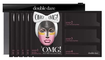 Маска для лица Double Dare OMG! Система зон 5 шт