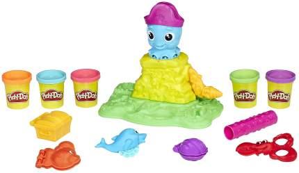 Набор для лепки из пластилина Hasbro Play-Doh Веселый Осьминог E0800