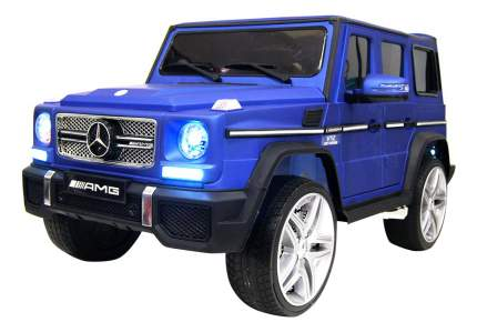 Электромобиль Mercedes-Benz G65 AMG синий глянец RIVERTOYS