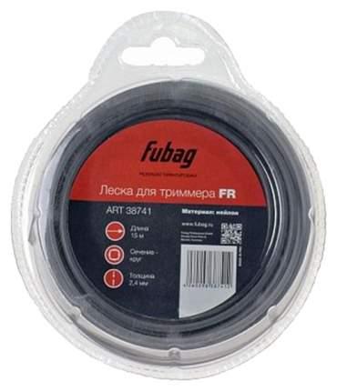 Леска для триммеров FUBAG FR сечение круглое L 15 м х 2,4 мм