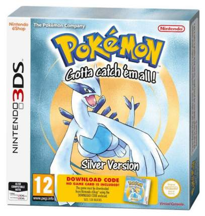 Игра Pokemon Silver для Nintendo 3DS