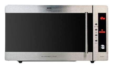 Микроволновая печь с грилем AEG MCD2541E-M silver/black