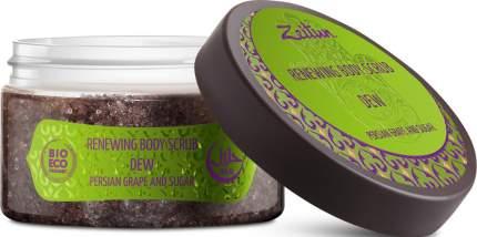 """Скраб для тела Zeitun """"Роса"""" с персидским виноградом и тростниковым сахаром"""