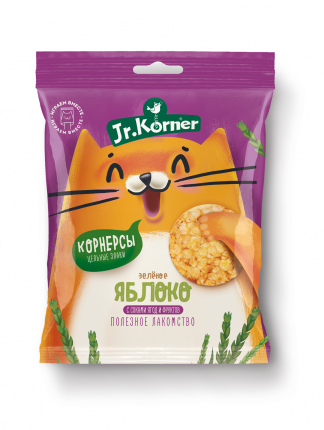 Хлебцы-мини Jr.Korner рисовые с яблочным соком 30 г