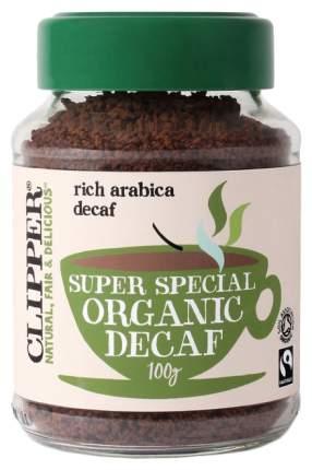 Кофе растворимый Clipper арабика органик декофеинизированый 100 г
