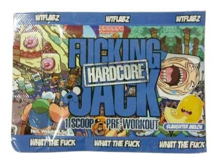 Предтренировочный комплекс WTF Labz Fucking Jack Hardcore 6 г дыня