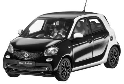 Модель Smart Forfour Passion Proxy B66960296 Scale 1:43 Black-White