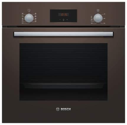 Встраиваемый электрический духовой шкаф Bosch HBF114BL0R Brown