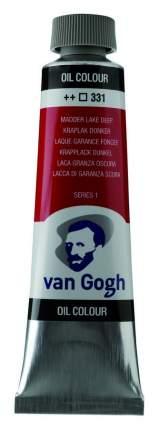 Масляная краска Royal Talens Van Gogh №331 краплак насыщенный 200 мл