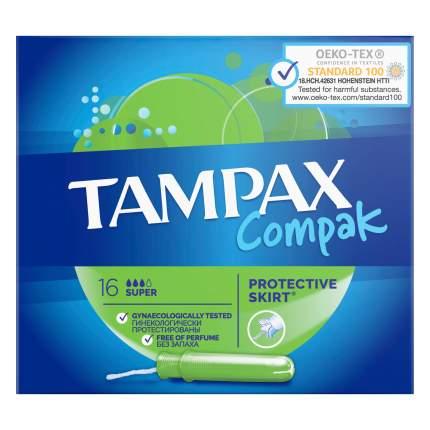 Тампоны Tampax Super Duo 16шт