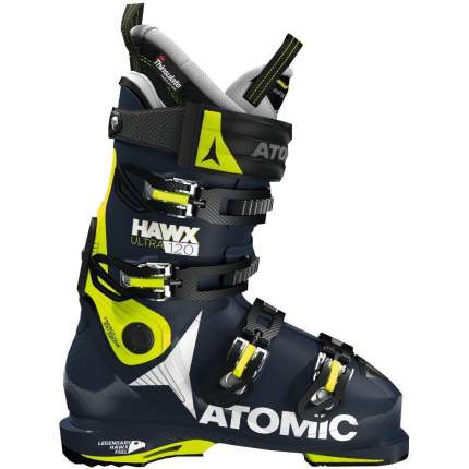 Горнолыжные ботинки Atomic Hawx Ultra 120 2019, black/lime, 27.5