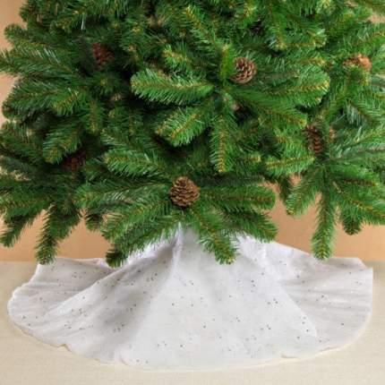Юбка для елки с блестками Kaemingk Снежная 100 см, фетр 472066