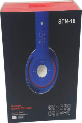 Наушники беспроводные STN-16 Blue