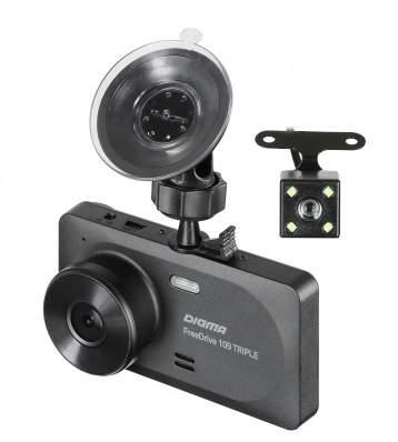 Видеорегистратор Digma FreeDrive 109 TRIPLE (3 камеры)