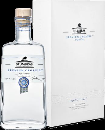 Stumbras Premium Organic Vodka (gift box)
